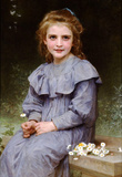 William-Adolphe Bouguereau Daisies Art Print Poster Masterprint