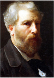 William-Adolphe Bouguereau Self-Portrait Presented To M Sage Art Print Poster Prints