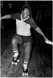 Roller Skating 1981 Archival Photo Poster Print