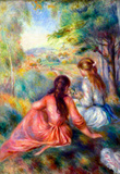 Renoir In the Meadow Art Print Poster Masterprint