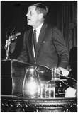 President John F Kennedy in Legislature 1961 Archival Photo Poster Prints
