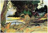 Paul Gauguin Te Burao Art Print Poster Poster