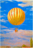 Pal Szinyei Merse The Balloon Art Print Poster Posters