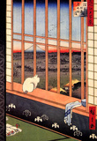 Utagawa Hiroshige Asakusa Ricefields Art Print Poster Masterprint