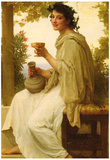 William-Adolphe Bouguereau Bacchante Art Print Poster Prints