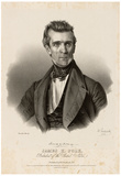 President James Polk Portrait Art Print Poster Print