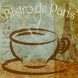 Bistro de Paris Prints by Elizabeth Medley
