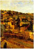 Paul Gauguin Blue Roots at Rouen Art Print Poster Prints
