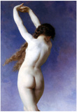 William-Adolphe Bouguereau Lost Pleiad Art Print Poster Print