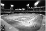 Tiger Stadium Detroit Tigers Black White Archival Photo Poster Print