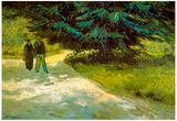Vincent Van Gogh Poets Garden III Art Print Poster Posters
