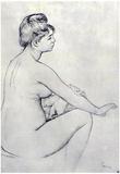 Pierre Auguste Renoir Bather Art Print Poster Poster