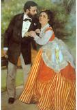 Pierre Auguste Renoir Alfred Sisley Art Print Poster Masterprint