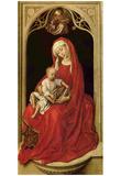 Rogier van der Weyden (Mary with Christ Child (Madonna Duran)) Art Poster Print Prints