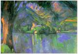 Paul Cezanne Le Lac d'Annecy 1896 Art Print Poster Prints