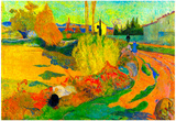 Paul Gauguin Von Arles Art Print Poster Poster