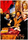 Peter Paul Rubens Four Philosophers Art Print Poster Prints