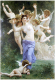 William-Adolphe Bouguereau Invation Art Print Poster Prints