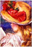 Pierre-Auguste Renoir Girl Reading 2 Art Print Poster Poster