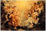 Peter Paul Rubens Musical Angel Art Print Poster Prints