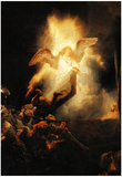 Rembrandt Resurrection Art Print Poster Prints