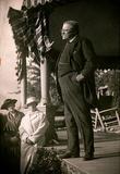 President Theodore Roosevelt Speaking Archival Photo Poster Print Masterprint