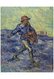 Vincent Van Gogh (The Sower) Art Poster Print Posters