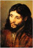 Rembrandt Christ 2 Art Print Poster Prints