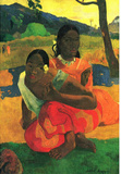 Paul Gauguin When You Hear Art Print Poster Masterprint