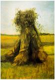 Vincent Van Gogh Sheaves 2 Art Print Poster Poster
