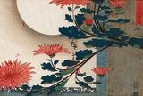 Utagawa Hiroshige Chrysanthemums Art Print Poster Masterprint