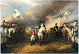 The Surrender of Lord Cornwallis Historical Art Print Poster Photo