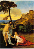 Titian Noli me Tangere Art Print Poster Prints
