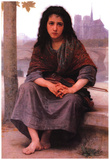 William-Adolphe Bouguereau The Bohemian Art Print Poster Prints