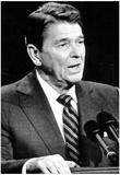 President Ronald Reagan Kansas City 1984 Archival Photo Poster Posters