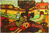 Paula Modersohn-Becker The Merciful Samaritan Art Print Poster Posters