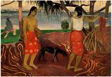 Paul Gauguin I Raro Te Oviri Art Print Poster Prints