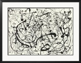 N° 14, gris Posters par Jackson Pollock