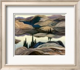 Mirror Lake Posters by Franklin Carmichael