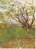 Vincent Van Gogh (Cherry Tree) Art Poster Print Masterprint