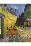 Vincent Van Gogh (Cafe Terrace at Night) Art Poster Print Photo