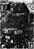 Vietnam War Protest 1973 Archival Photo Poster Print