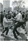 New York City Central Park People Dancing Archival Photo Poster Print Prints