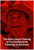 Ronald Reagan Future iNspire Quote Poster Poster