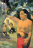 Paul Gauguin Where Do You Art Print Poster Masterprint