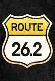 Route 26.2 Marathon Sports Poster Masterprint