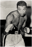 Sugar Ray Robinson Boxing Pose Archival Photo Sports Poster Print Pôsters