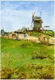 Vincent Van Gogh Le Moulin de la Galette 4 Art Print Poster Print