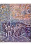 Vincent Van Gogh (Prisoners Exercising, After Dore) Art Poster Print Print