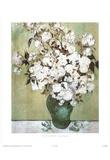 Vincent Van Gogh (Les Roses) Art Print Poster Prints